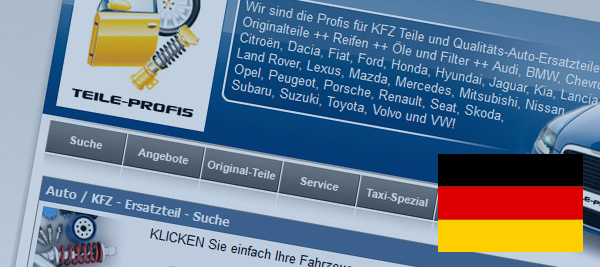 Teile Profis carparts pros com spare parts car parts original parts for all